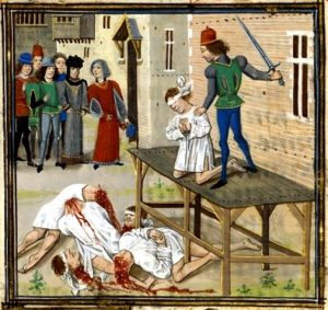 The beheading of Olivier de Clisson