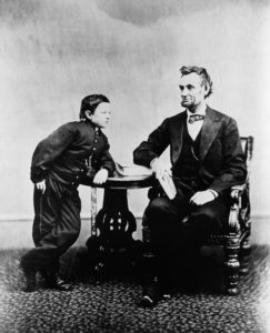 "Abraham Lincoln and Thomas ""Tad"" Lincoln -"