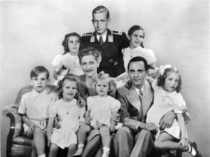 Magda, Joseph and their 6 children.